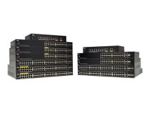 Cisco 250 Series SG250X-24P - switch - 24 ports - smart - rack-m (SG250X-24P-K9)