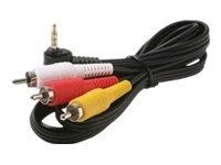 Steren video / audio cable - composite video / audio - 6 ft (ST-255-219)